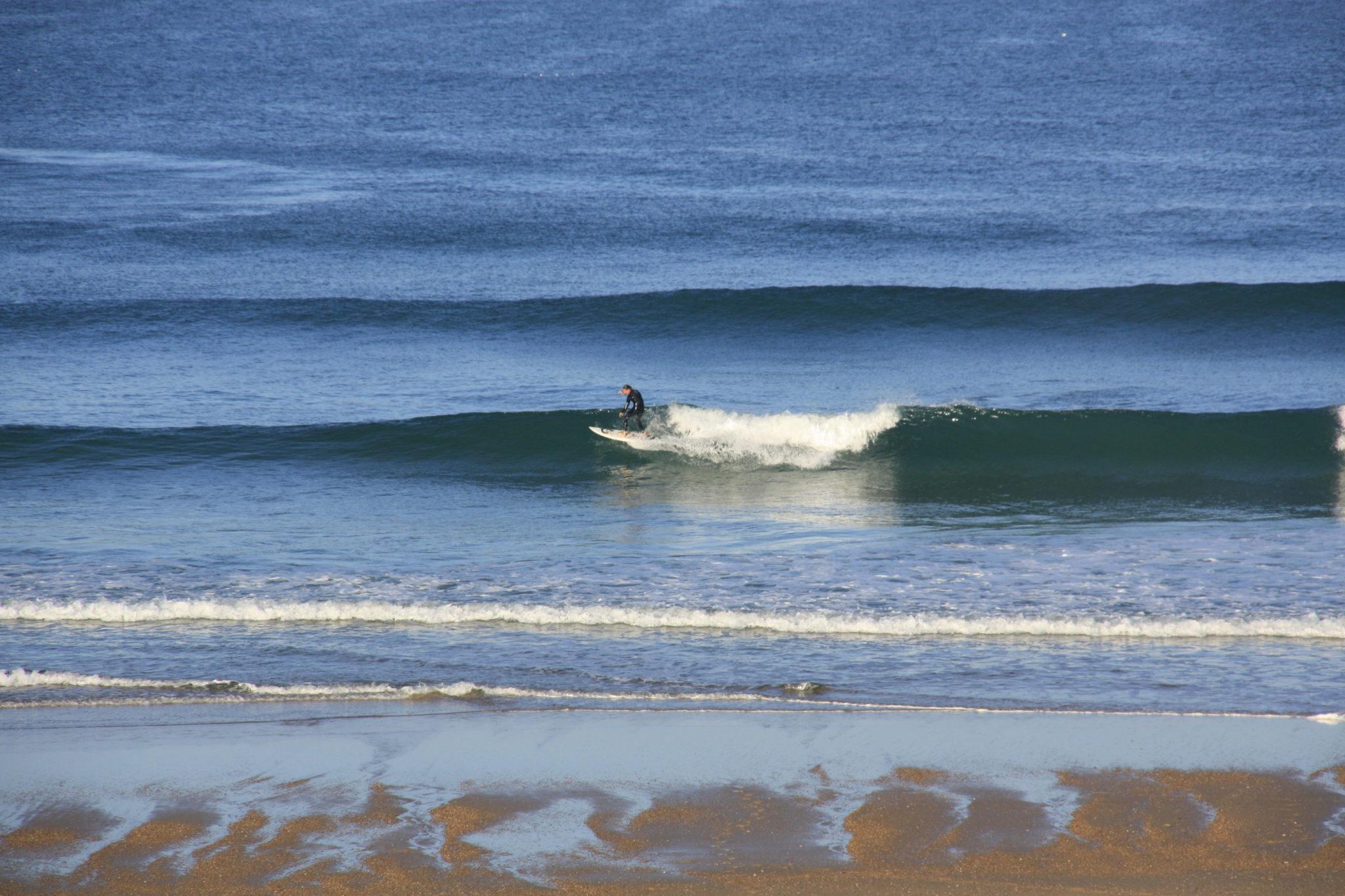 Session surf à Seignosse