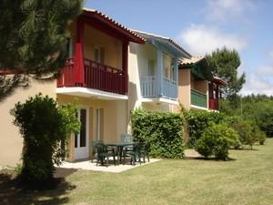 Domaine du Golf de Pinsolle Soustons Pierre et Vacances Appartements terrasse