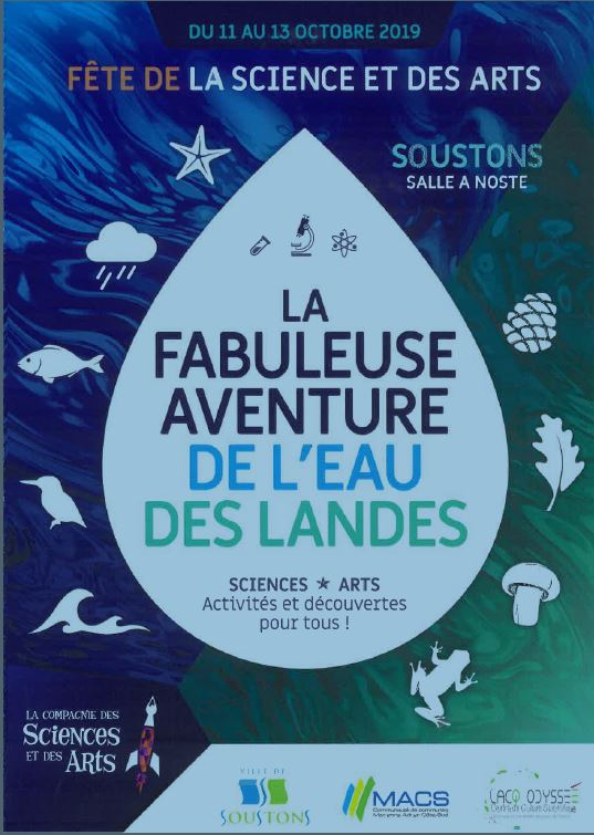 Fete de la science affiche 2019