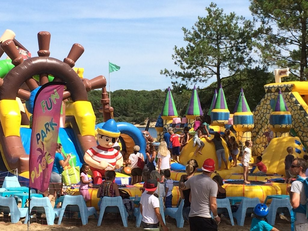 Fun Park Plage_Soustons Plage_Landes Atlantique Sud