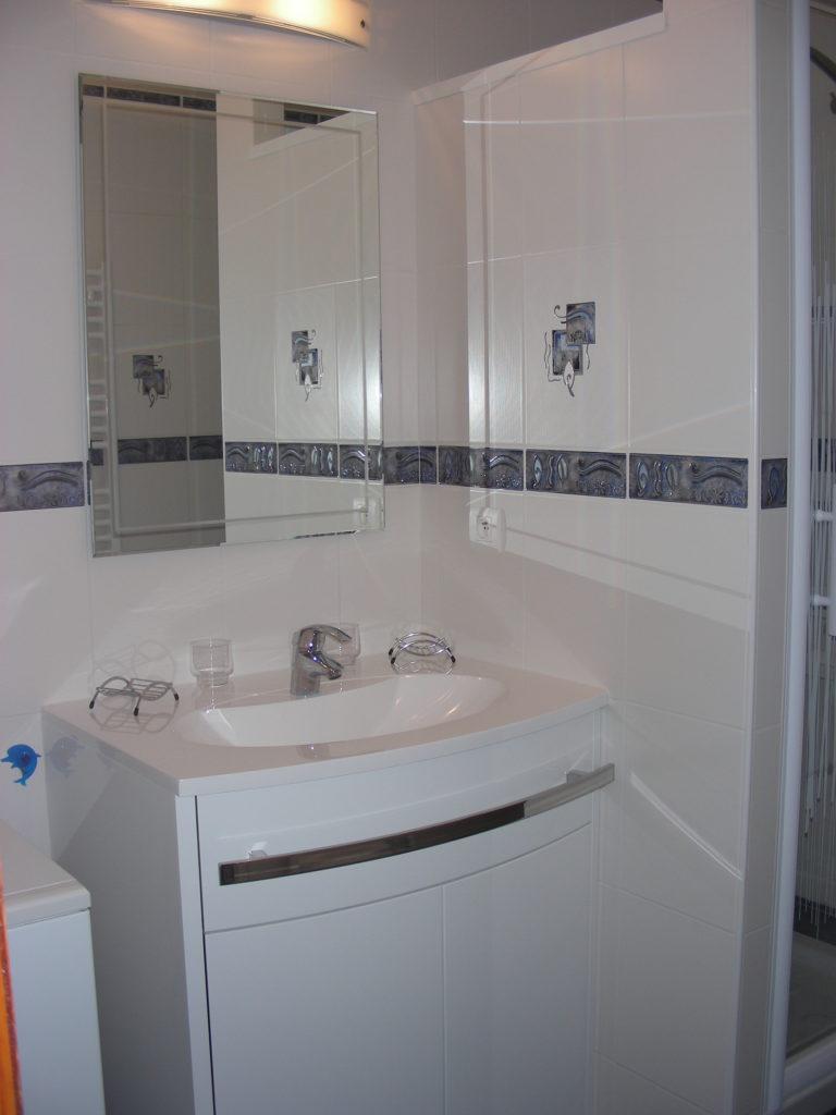 Location maison Soustons Landes Roth Salle de bains