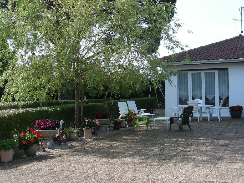 Location maison soustons Landes roth Salon de jardin exterieur