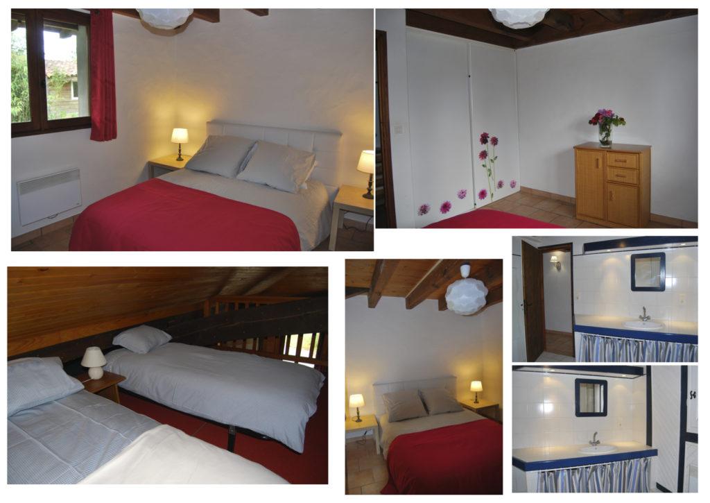 Location_maison_soustons_chambres et mezzanine