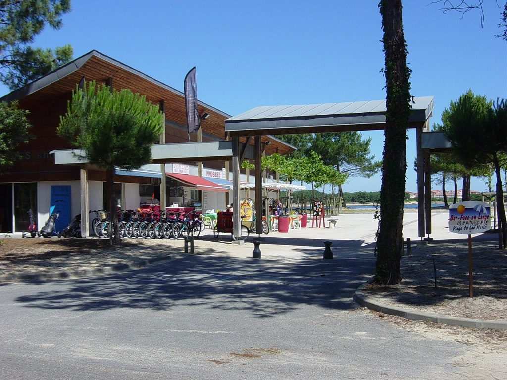 Soustons plage Place du Lac Marin  Jeremy Winckelmann