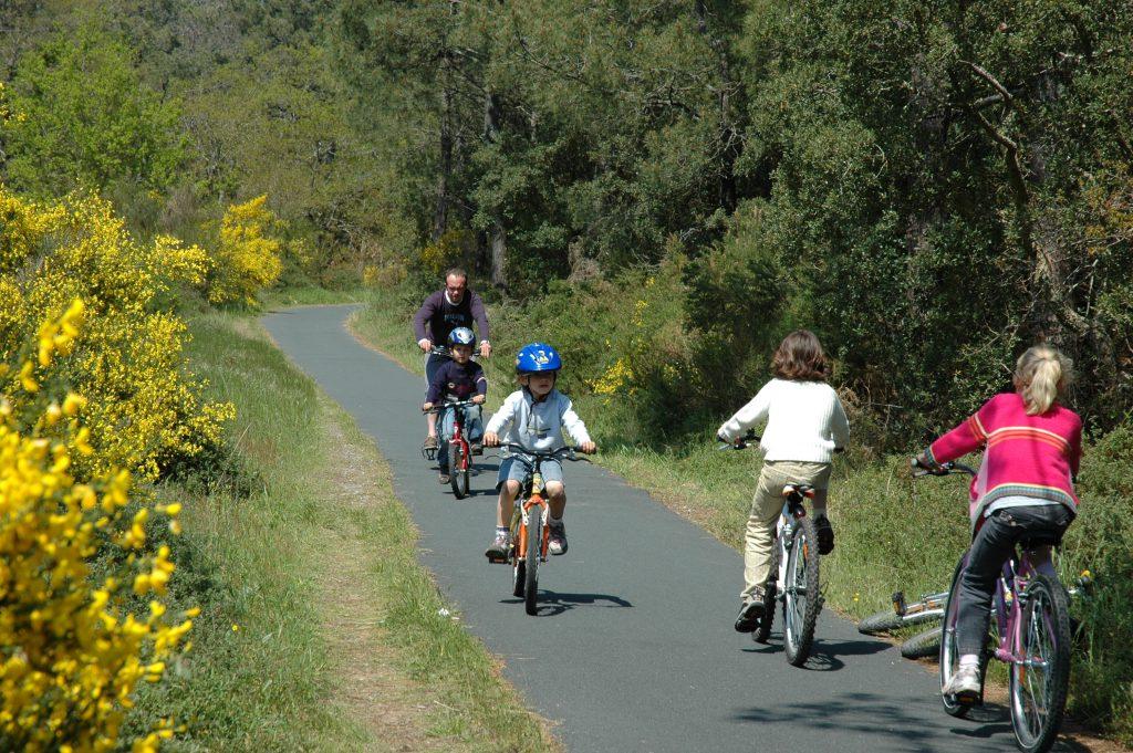 Vélo dans le sud des Landes