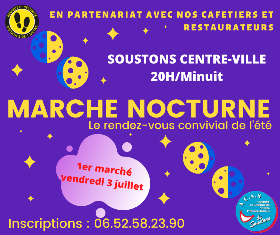 nocturne Soustons